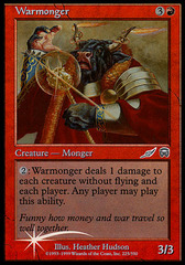 Warmonger - Player's Guide DCI Foil