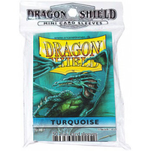 Dragon Shield 50 Count Yugioh Sized Sleeves - Turquoise