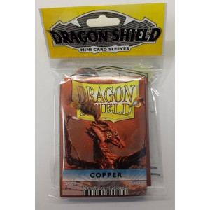 Dragon Shield 50 Count Yugioh Sized Sleeves - Copper