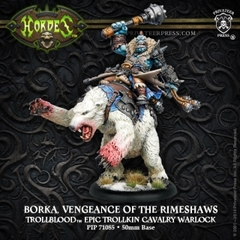 Borka, Vengeance of the Rimeshaws - Epic Cavalry Warlock