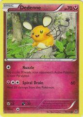 Dedenne - 70/119 - Common on Channel Fireball