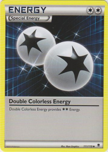 Double Colorless Energy - 111/119 - Uncommon