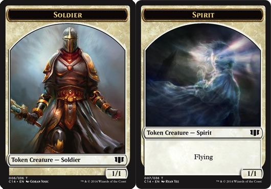 Soldier Token // Spirit Token