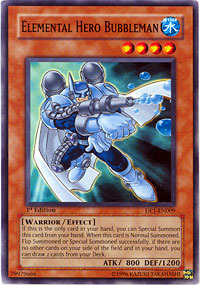 Elemental Hero Bubbleman - DP1-EN009 - Common - 1st Edition