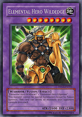 Elemental Hero Wildedge - DP03-EN010 - Rare - 1st Edition