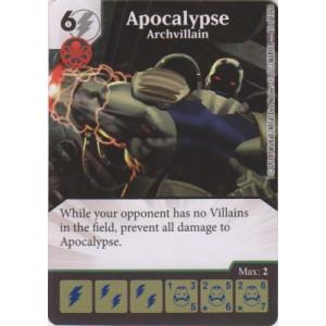 Apocalypse - Archvillian (Die  & Card Combo)