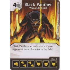 Black Panther - Wakanda Chief (Die  & Card Combo)