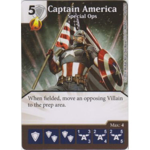Captain America - Special Ops (Die  & Card Combo)
