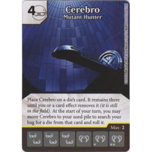 Cerebro - Mutant Hunter (Die  & Card Combo)