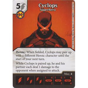 Cyclops - Superhero (Die  & Card Combo)