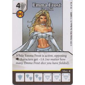Emma Frost - Graceful (Die  & Card Combo)