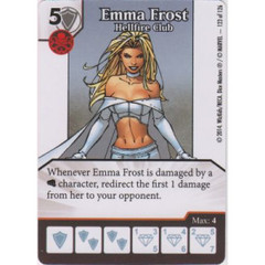 Emma Frost - Hellfire Club (Die  & Card Combo)