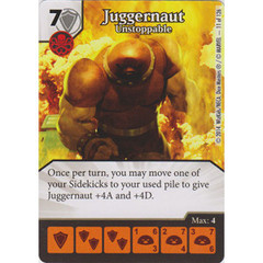Juggernaut - Unstoppable (Die  & Card Combo)