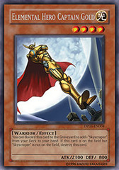 Elemental Hero Captain Gold - DP06-EN004 - Rare - 1st Edition on Channel Fireball