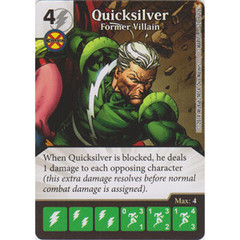 Quicksilver - Former Villain (Die  & Card Combo)