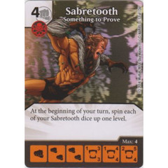 Sabretooth - Something to Prove (Die  & Card Combo)