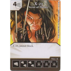 X-23 - Scent of Murder (Die  & Card Combo)