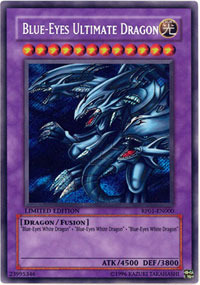 Blue-Eyes Ultimate Dragon - RP01-EN000 - Secret Rare - Limited Edition