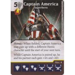Captain America - Superhero (Card Only)