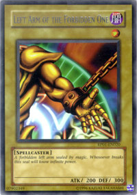 Left Arm of the Forbidden One - RP01-EN020 - Rare - Unlimited Edition