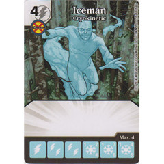 Iceman - Cryokinetic (Card Only)