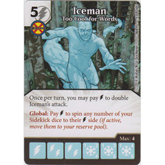 Iceman - Too Cool for Words (Card Only)