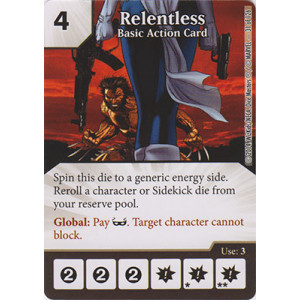 Relentless - Basic Action Card (Card Only)