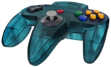 Accessory: Controller Cirka Turquoise N64