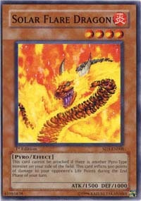 Solar Flare Dragon - SD3-EN008 - Common - 1st Edition