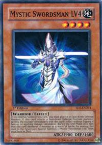 Mystic Swordsman LV4 - SD5-EN014 - Common - 1st Edition