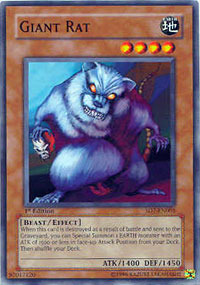 Giant Rat - SD7-EN003 - Common - 1st Edition