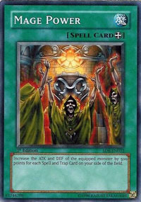 Mage Power - SD6-EN022 - Common - 1st Edition