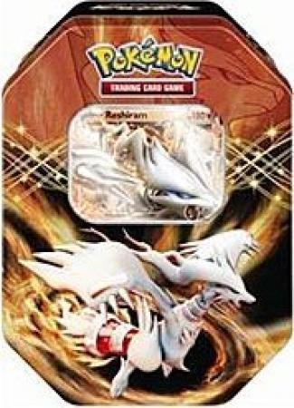 Pokemon 2012 Black & White EX Collectors Tin: Reshiram