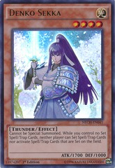 Denko Sekka - NECH-EN041 - Ultra Rare - 1st Edition on Channel Fireball