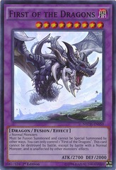 First of the Dragons - NECH-EN050 - Super Rare - 1st Edition on Channel Fireball