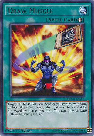 Draw Muscle - NECH-EN057 - Rare - 1st Edition