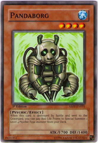 Pandaborg - ABPF-EN031 - Common - 1st Edition