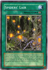 Spiders' Lair - ABPF-EN054 - Common - 1st Edition
