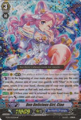 Duo Delicious Girl, Ciao - White - FC02/023EN-W - RRR