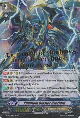 Phantom Blaster Overlord - FC02/S03EN - SP