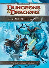 D&D 4E Revenge of the Giants