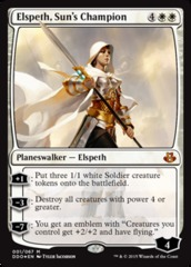 Elspeth, Suns Champion - Foil