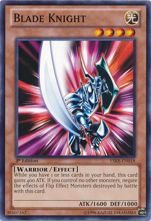 Blade Knight - YSKR-EN018 - Common - Unlimited Edition