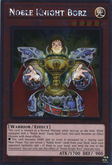 Noble Knight Borz - NKRT-EN009 - Platinum Rare - Limited Edition