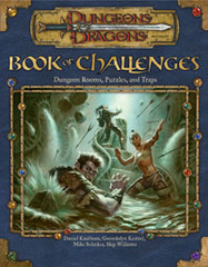 Book of Challenges: Dungeon Rooms, Puzzles, and Traps