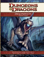 4th Edition Draconomicon: Chromatic Dragons