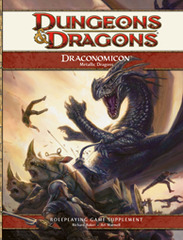 4th Edition Draconomicon: Metallic Dragons