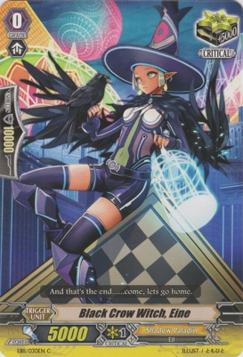 Black Crow Witch, Eine - EB11/030EN - C
