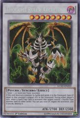 Thought Ruler Archfiend - LC5D-EN233 - Secret Rare - Unlimited Edition
