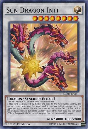 lc5d-fr241 ♦ yu-gi-oh ♦ inti the dragon sun vf//common